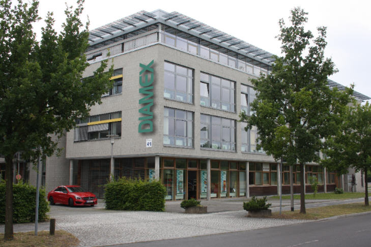 Diamex im Innovationspark Wuhlheide